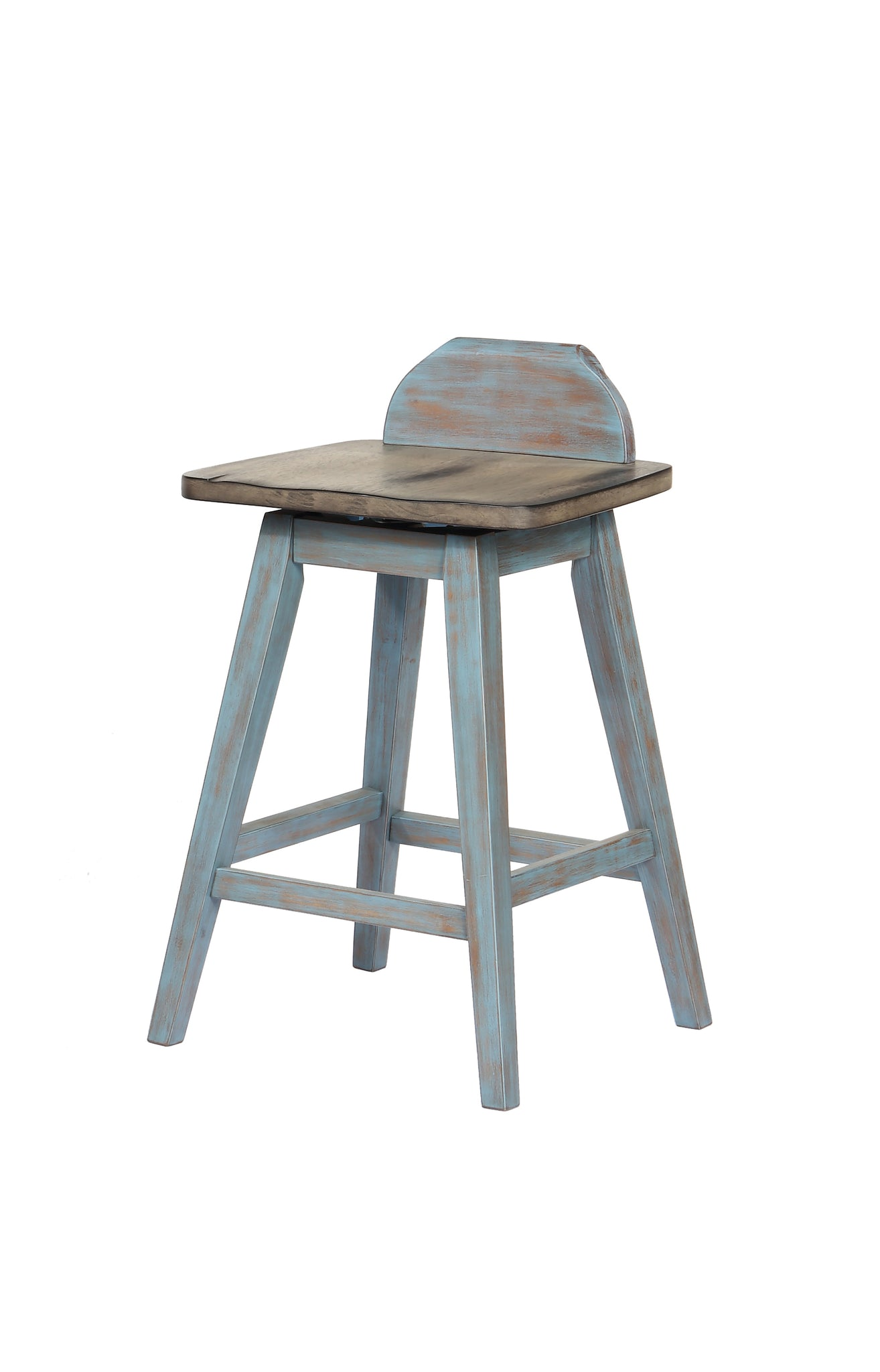 Superb Kris Kitchen Dinette Swivel Bar Stools Distressed Gray Gmtry Best Dining Table And Chair Ideas Images Gmtryco