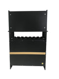 Bennett Wine Cabinet, Black Wood