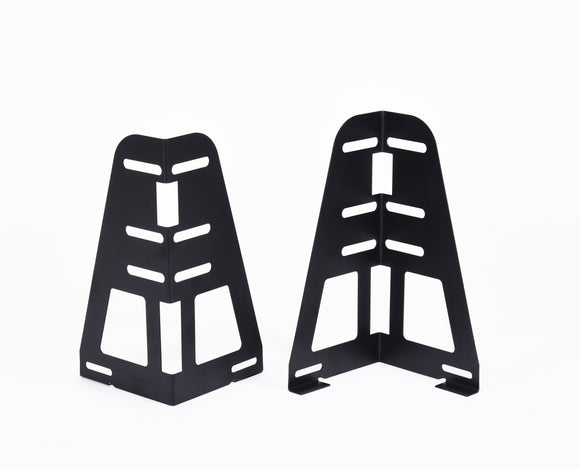 Headboard / Footboard Attachment Brackets For Bed Frame With Multiple Slots (Set Of Two) - Pilaster Designs