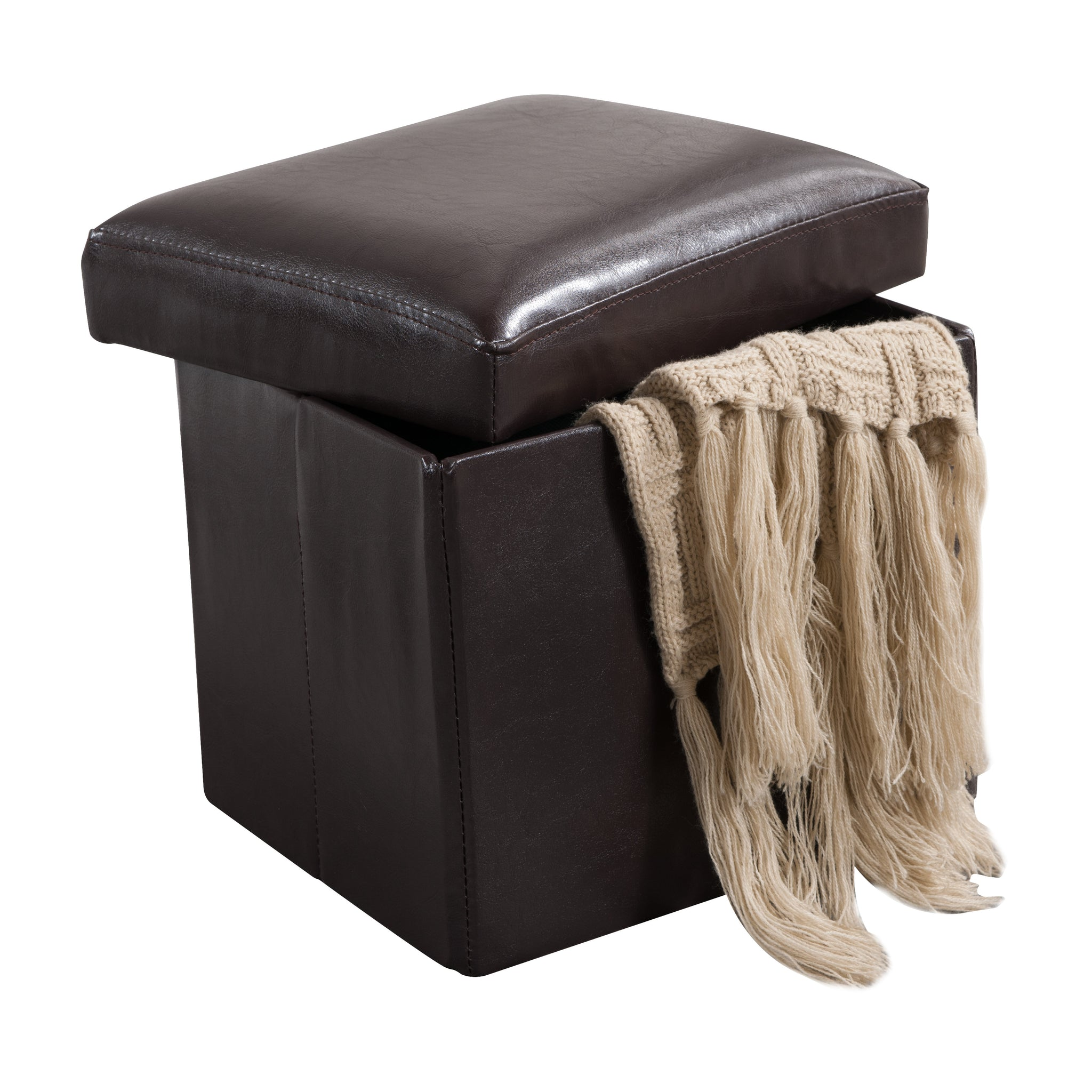 Terrific Dark Brown Faux Leather Upholstered Rectangle Or Square Machost Co Dining Chair Design Ideas Machostcouk