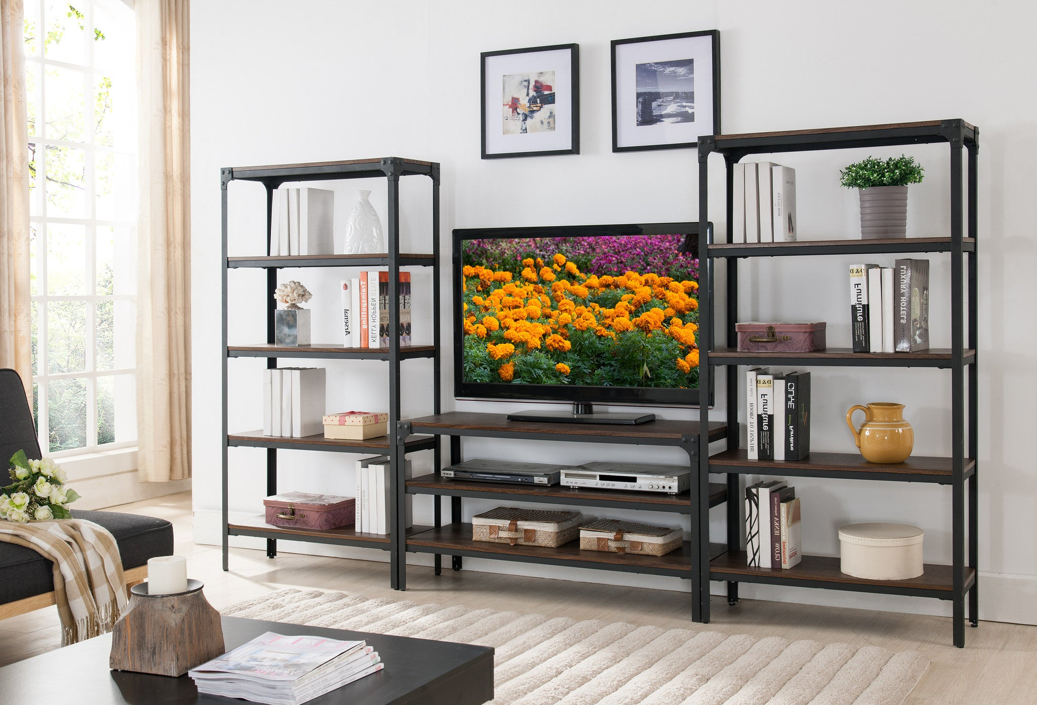 tv online porta show stand hp parete bookcases and living bookcase adjustable arredaclick swivel en pannello with room stands pnt