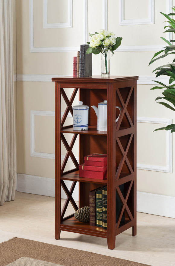 Daena Bookcase, Walnut Wood