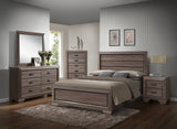 Jardena Brown & Black Wood Configurable Modern Panel Bedroom Set - Pilaster Designs