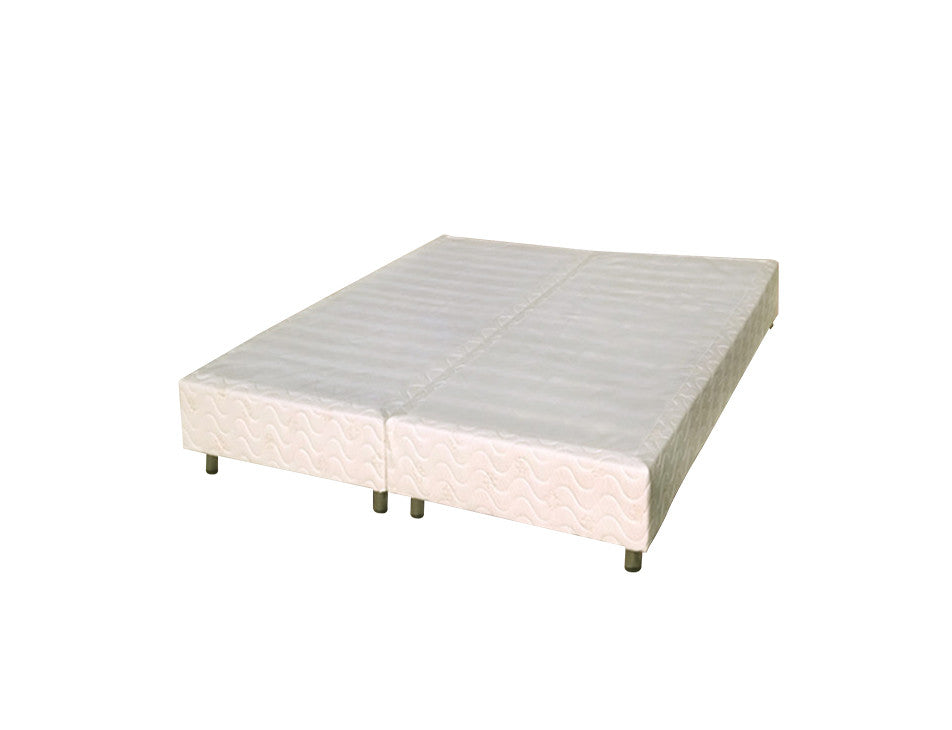 Mattress Box Spring Foundation With Legs - No Bed Frame Needed (Twin ...