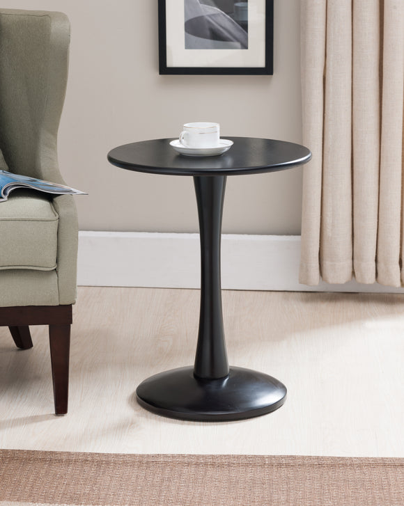 Ulva Side Table, Black Wood