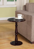 Coco Cherry Wood 14-Inch Round Accent Side Plant Stand Display Table - Pilaster Designs