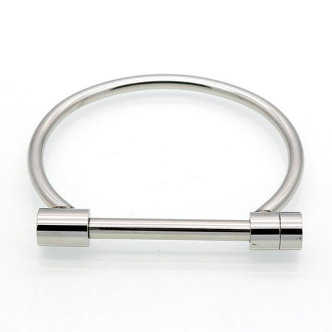 Screw N Lock Bracelet- Silver