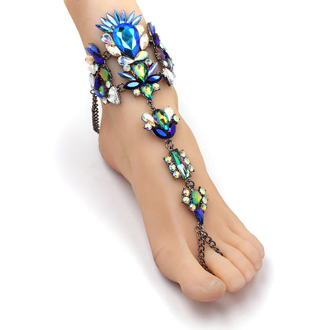 Crystal Ankle Bracelet Foot Chain A1
