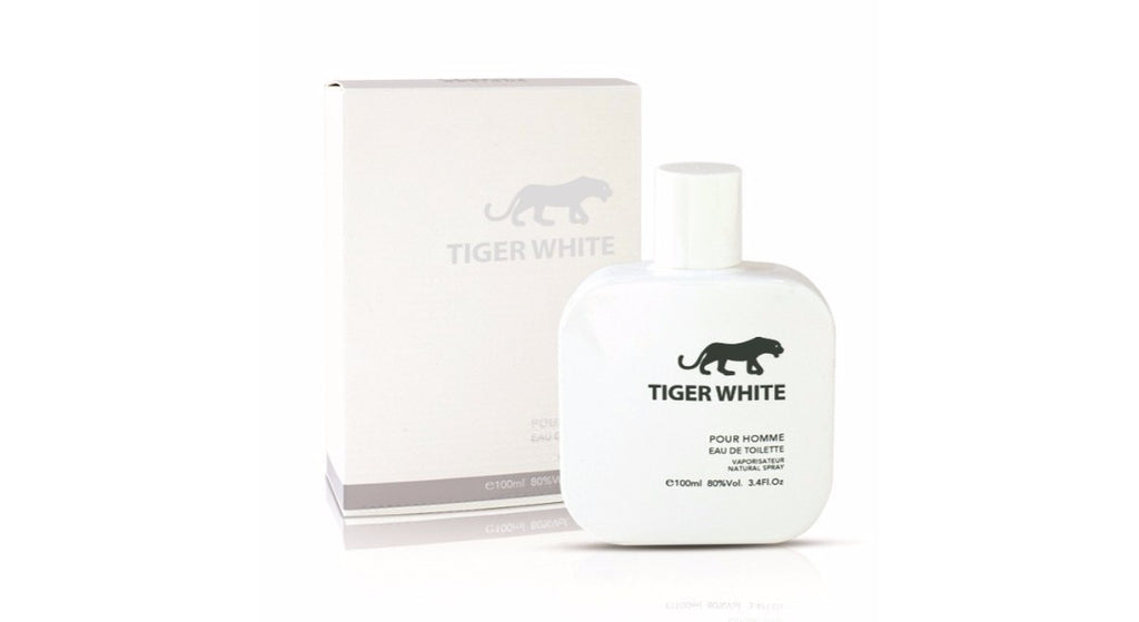 88ff2619e TIGER WHITE by COSMO for Men 3.4 fl.oz EAU DE TOILETTE Perfume spray –  Discover My Perfumes