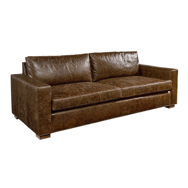 Southern Sown Leather Sofa