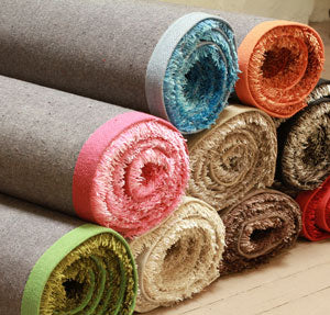 microfibre rugs are quite popular here due to their extremely soft nature and being very thin also microfibre has good heat retention