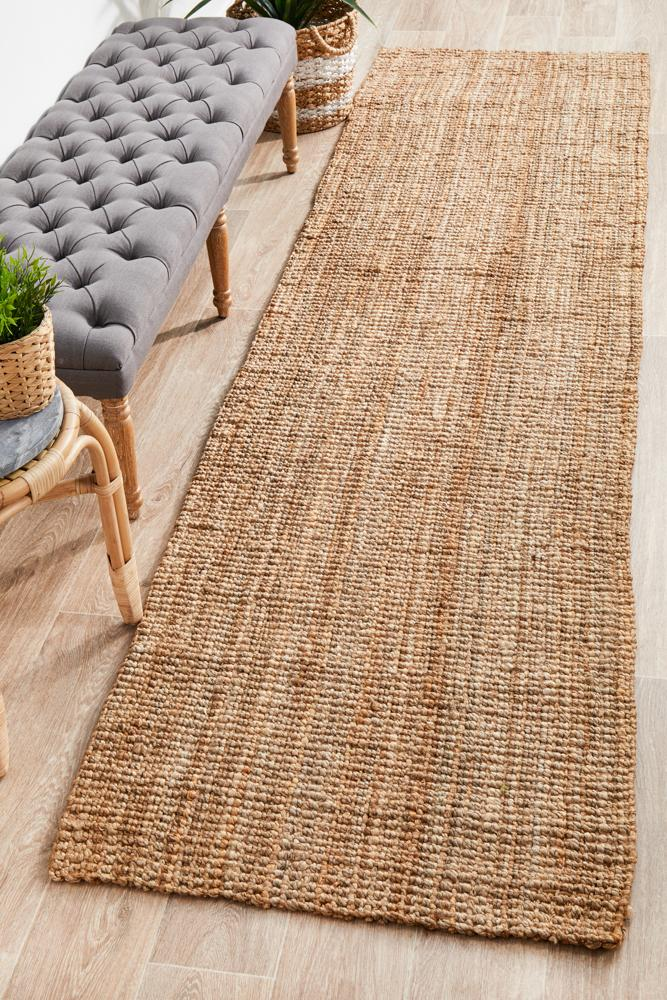 Jute Hand Loomed in Natural