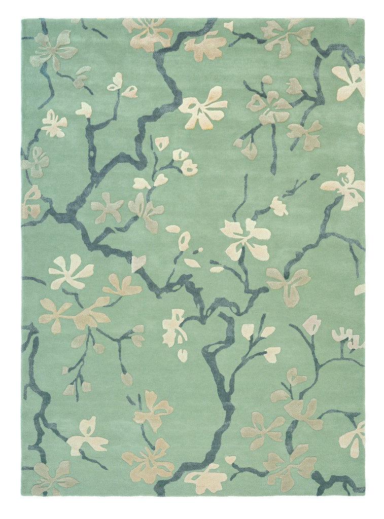 Sanderson Anthea Rug No.47107 in China Blue