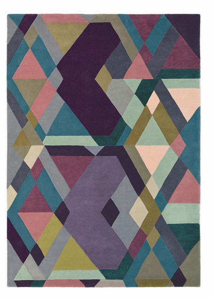 Ted Baker Mosaic Light Rug No.57605 in Purple