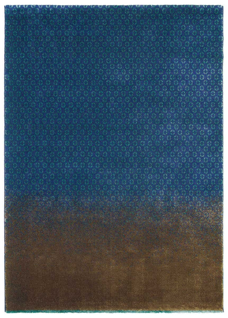 Ted Baker Dipgeo Rug No.58408 in Blue