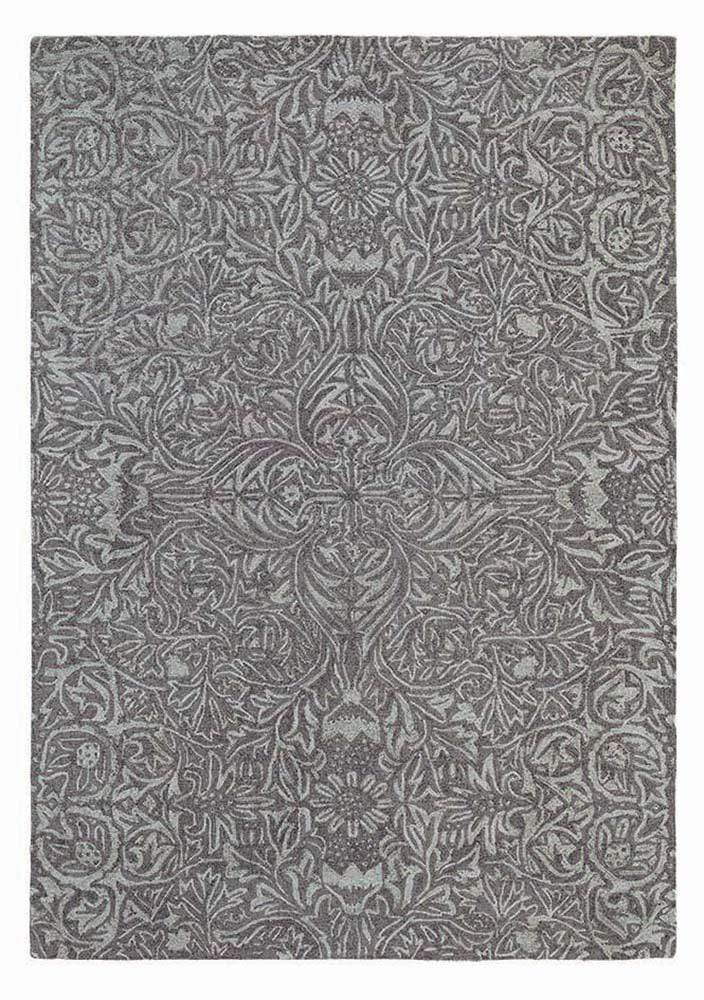 William Morris - Ceiling Rug in Charcoal