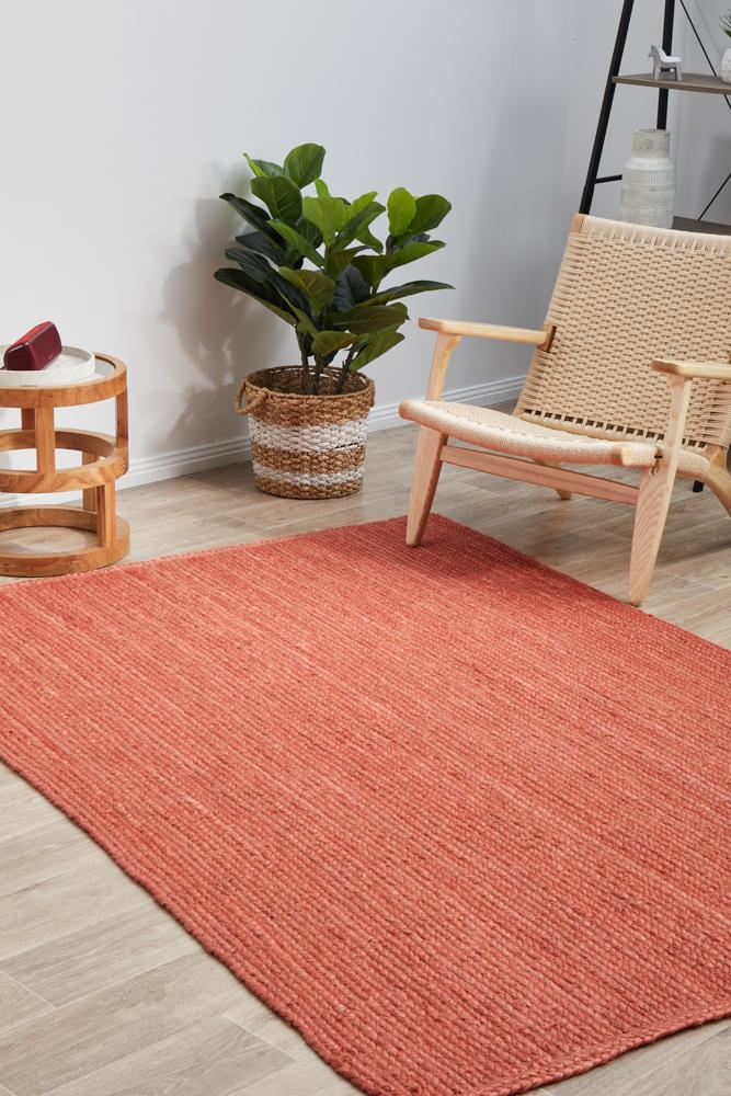 Jute Bondi in Terracotta
