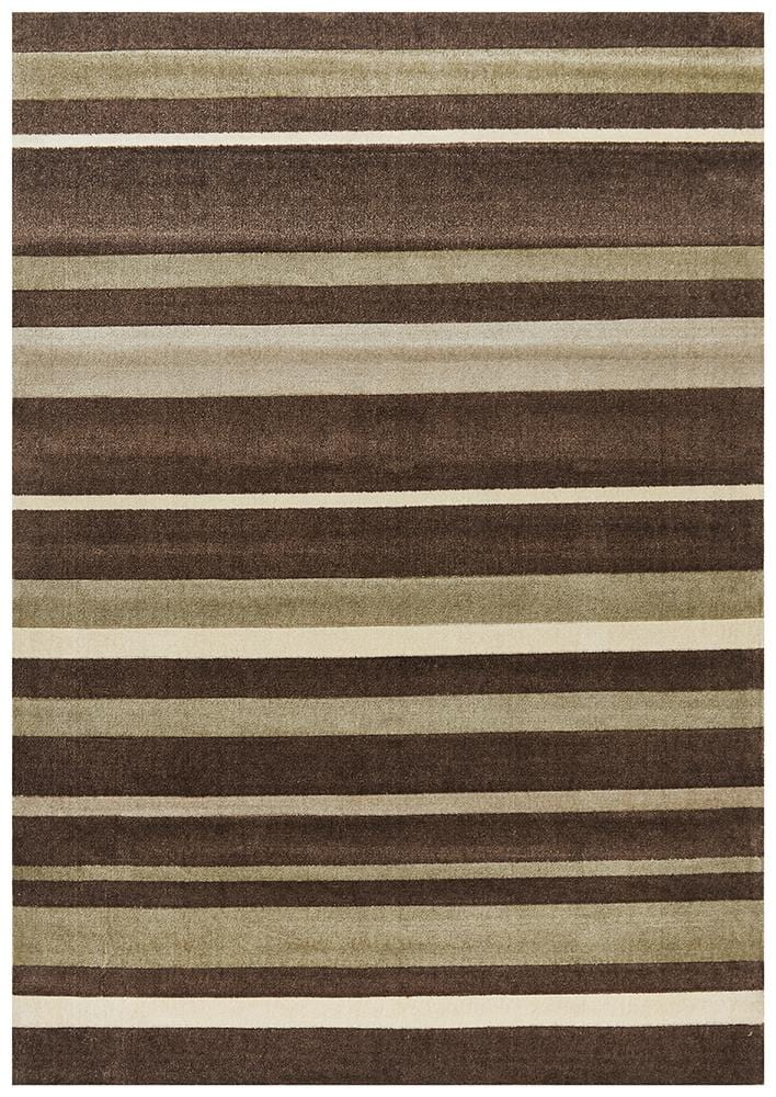 City Stripes in Brown