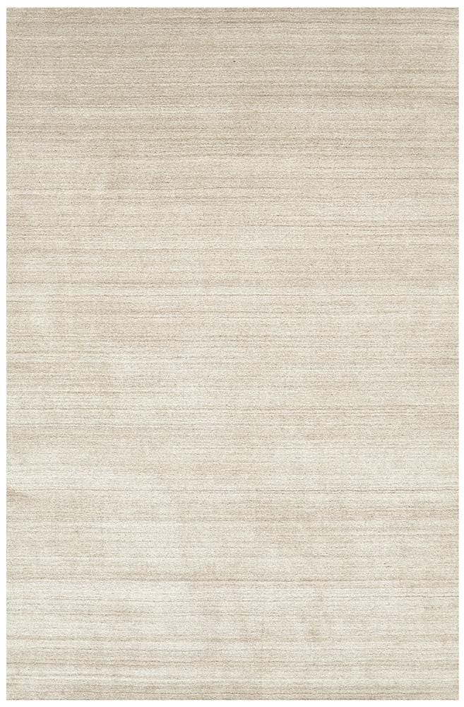 Havana Wool & Silky Viscose Light Natural Rug - Cheapest Rugs Online