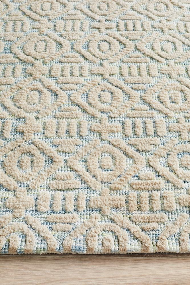 Levi in Baby Blue - Cheapest Rugs Online