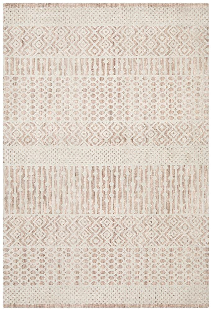 Levi in Peach - Cheapest Rugs Online