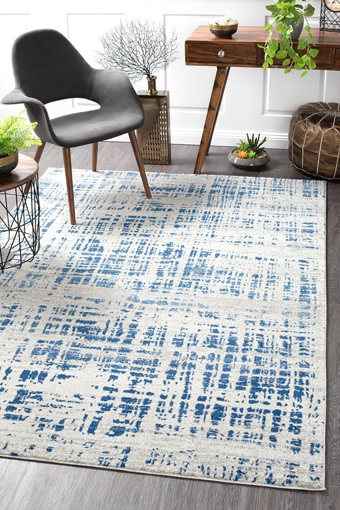 Mirage Abstract in Navy Rug
