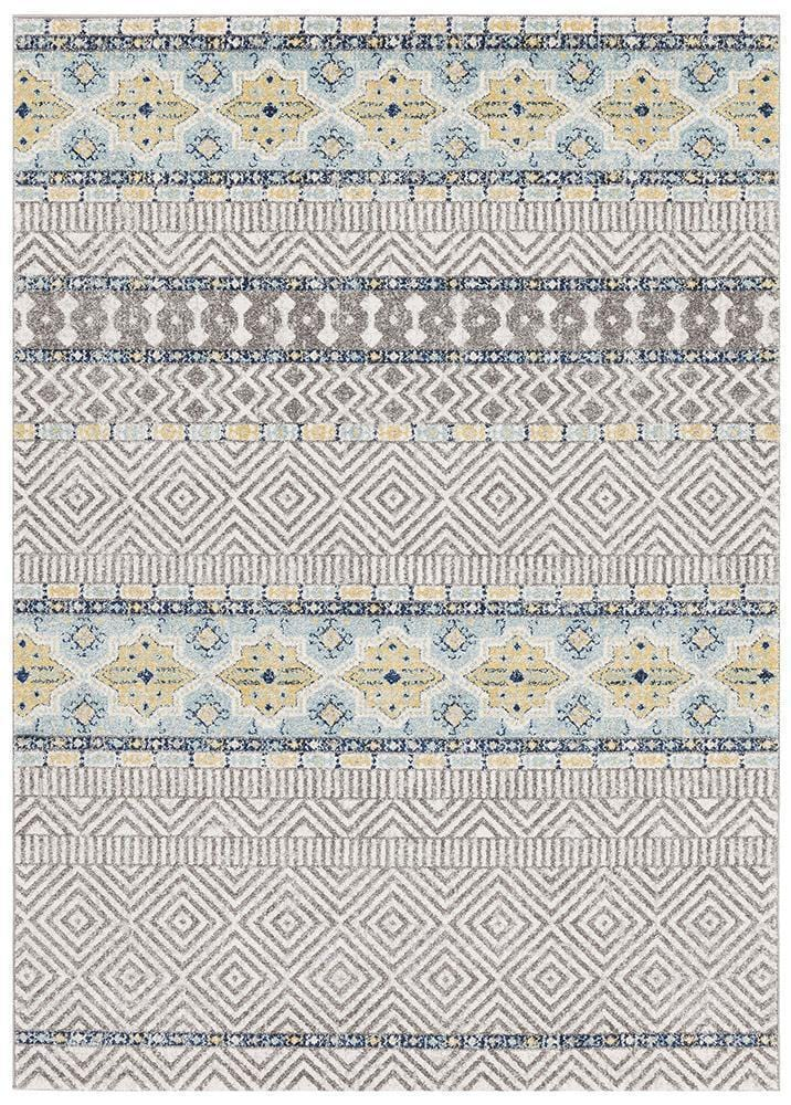 Oasis Sabrina Blue Tribal Rug