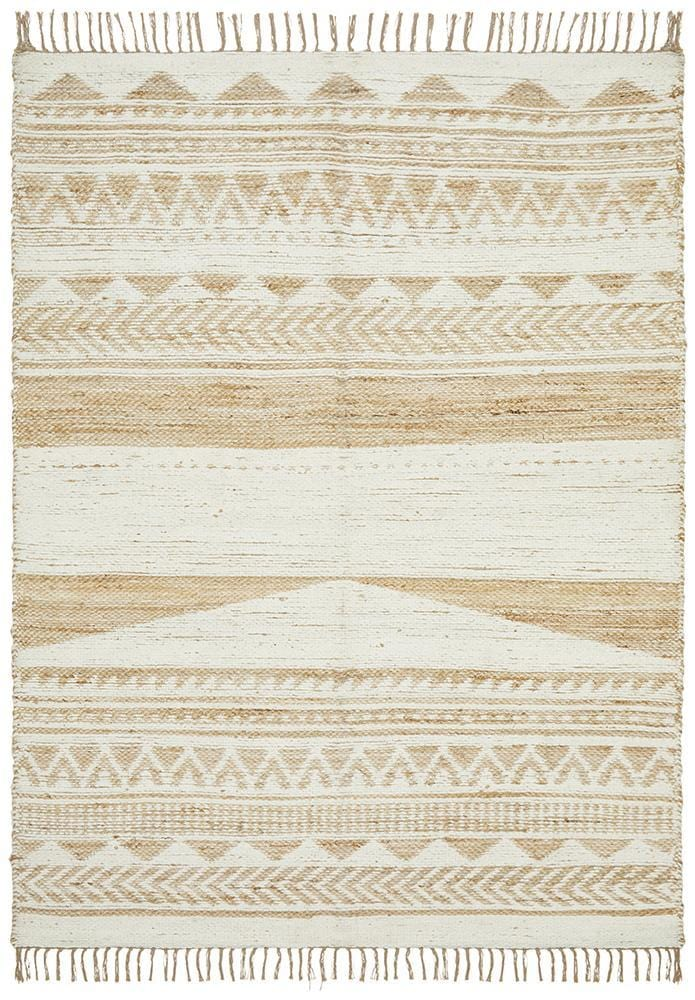Jute Parade in White