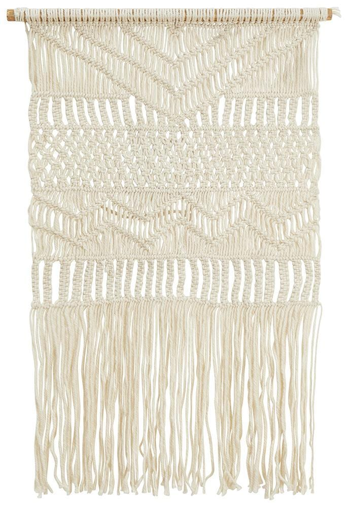 Hand Crafted Wall Hanging in Natural : 20