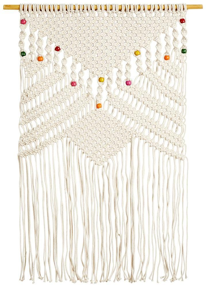 Multi beaded Natural Wall Hanging
