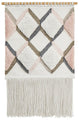 Rug Culture Home 436 Pink Wall Hanging