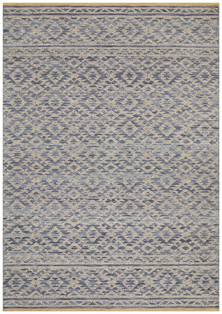 Relic Harvey Blue Natural Rug - Cheapest Rugs Online