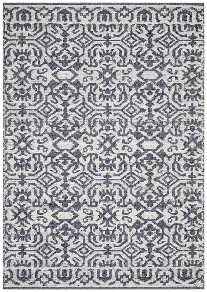Relic Kian Silver Navy Rug - Cheapest Rugs Online