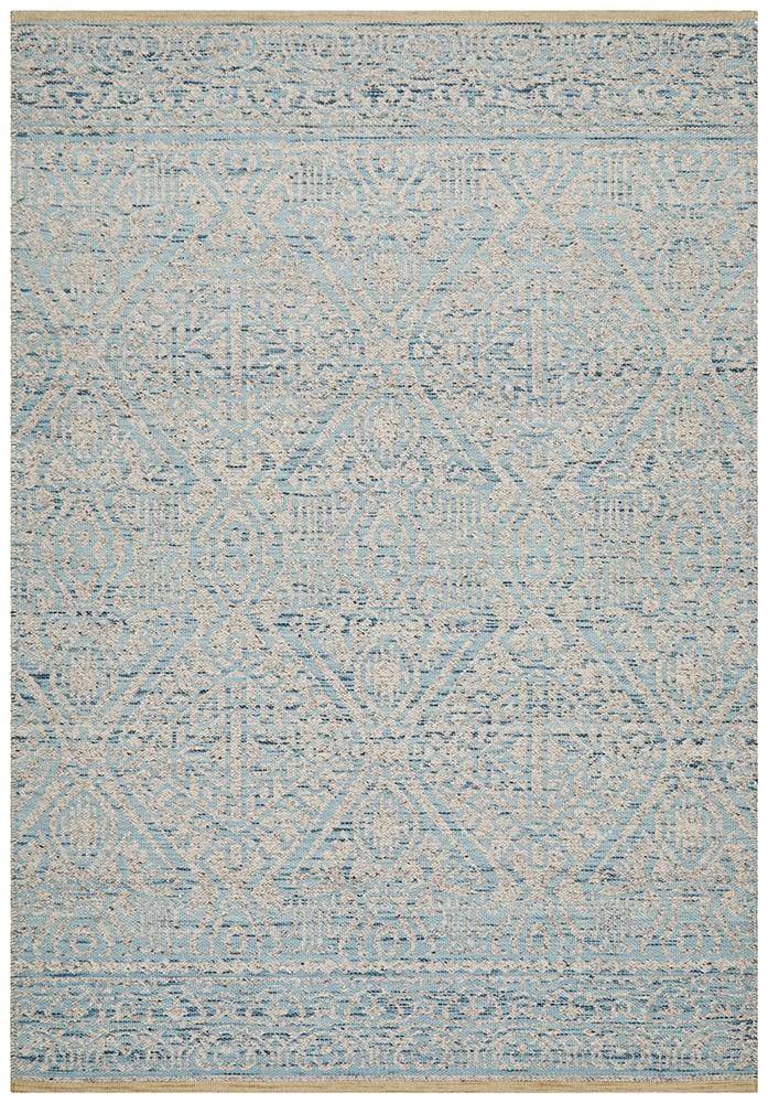 Relic Hunter Blue Grey Rug - Cheapest Rugs Online