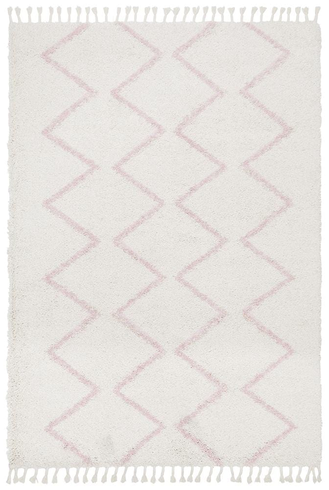 Rocca No.11 in Pink (Available in Rug & Runner Rug)
