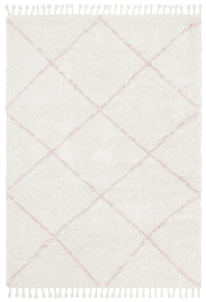 Rocca No.22 in Pink (Available in Rug & Runner Rug)