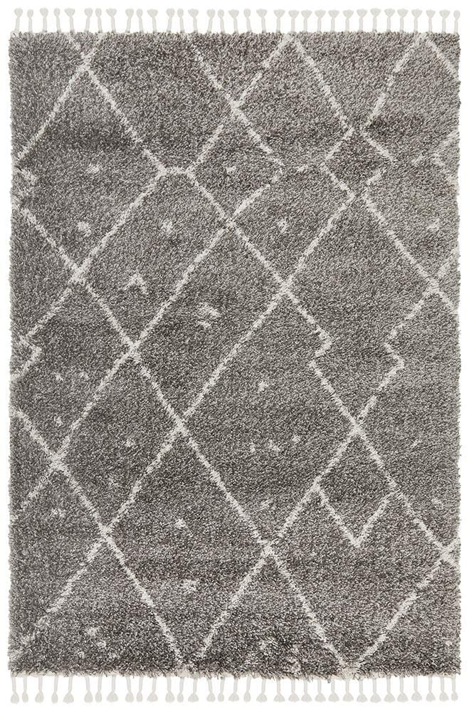 Rocca No.44 in Grey (Available in Rug & Runner Rug)