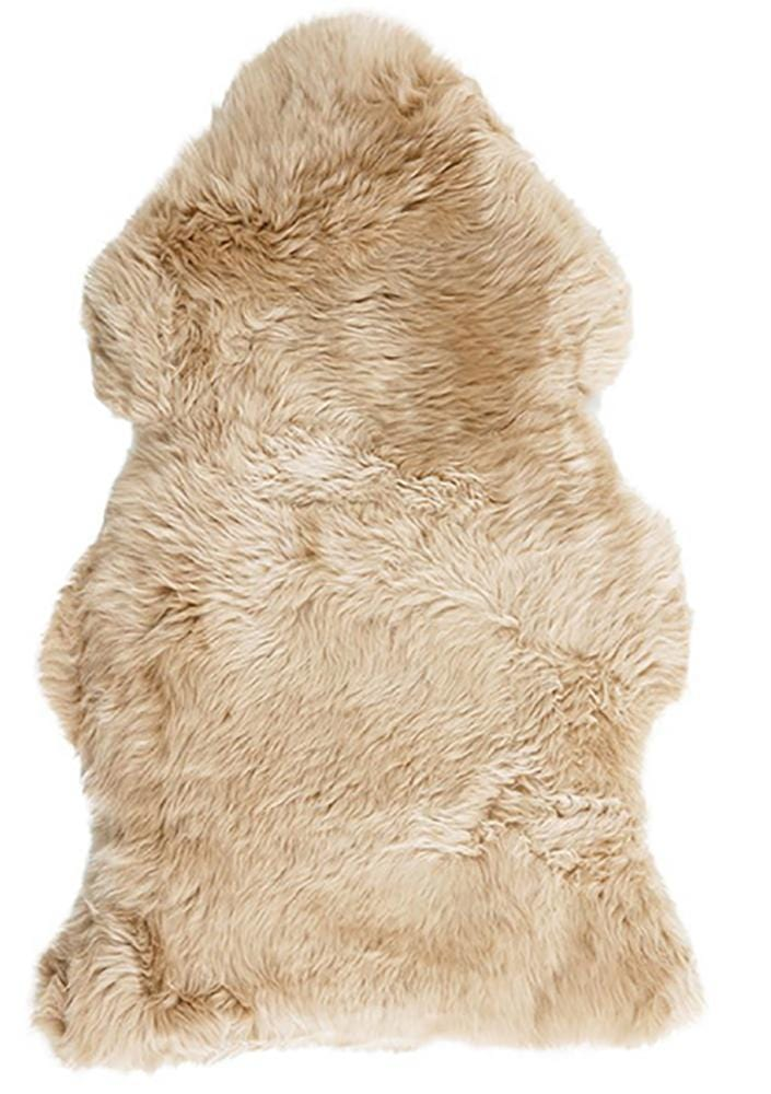New Zealand Premium Sheepskin in Champagne