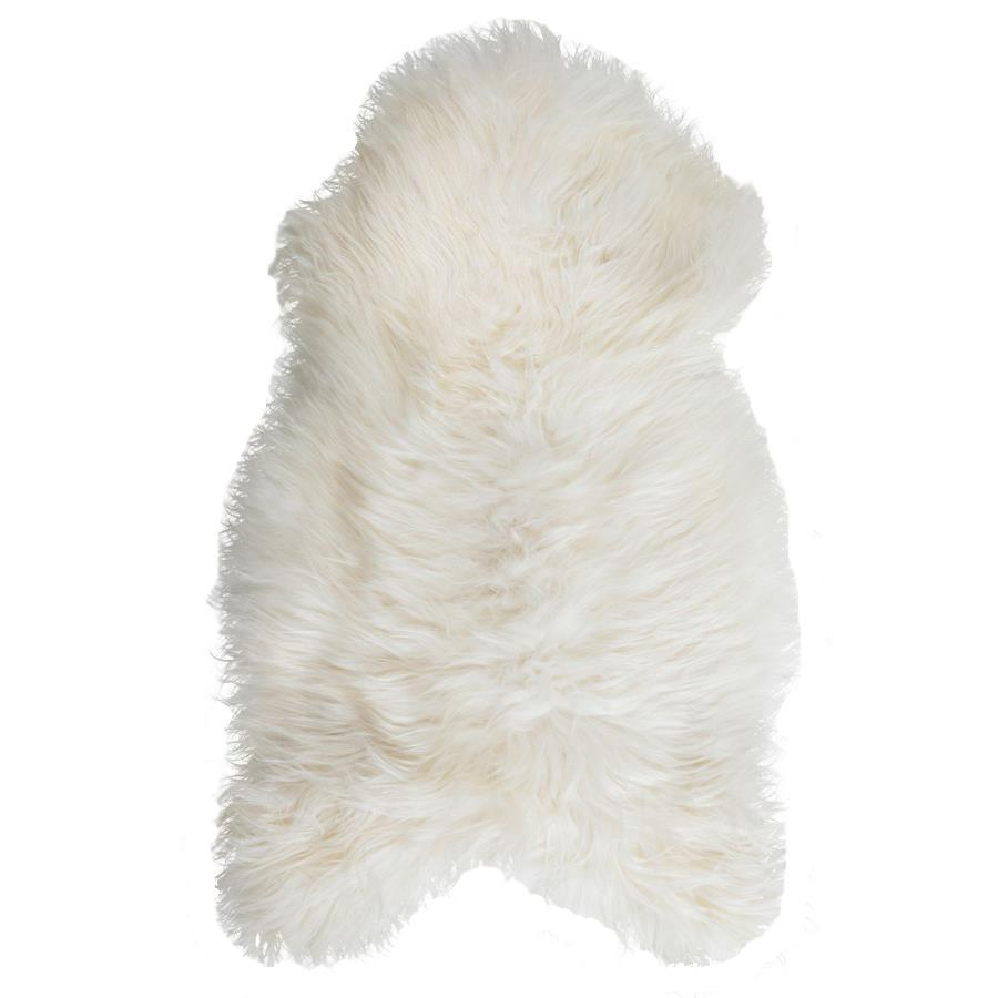 New Zealand Premium Sheepskin in White