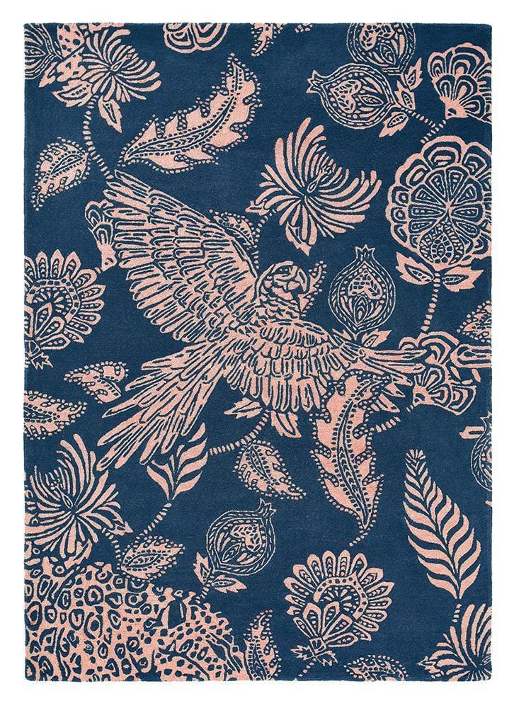 Ted Baker Loran Rug No.56308 in Navy