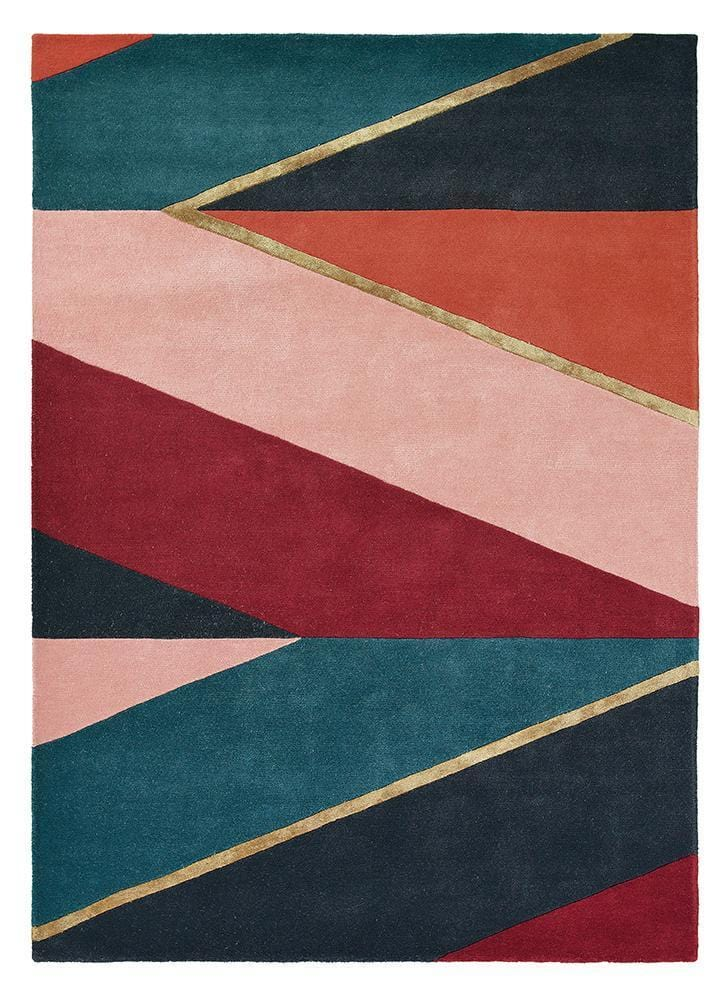 Ted Baker Sahara No.56105 in Burgundy (Available in Rug & Round Rug)