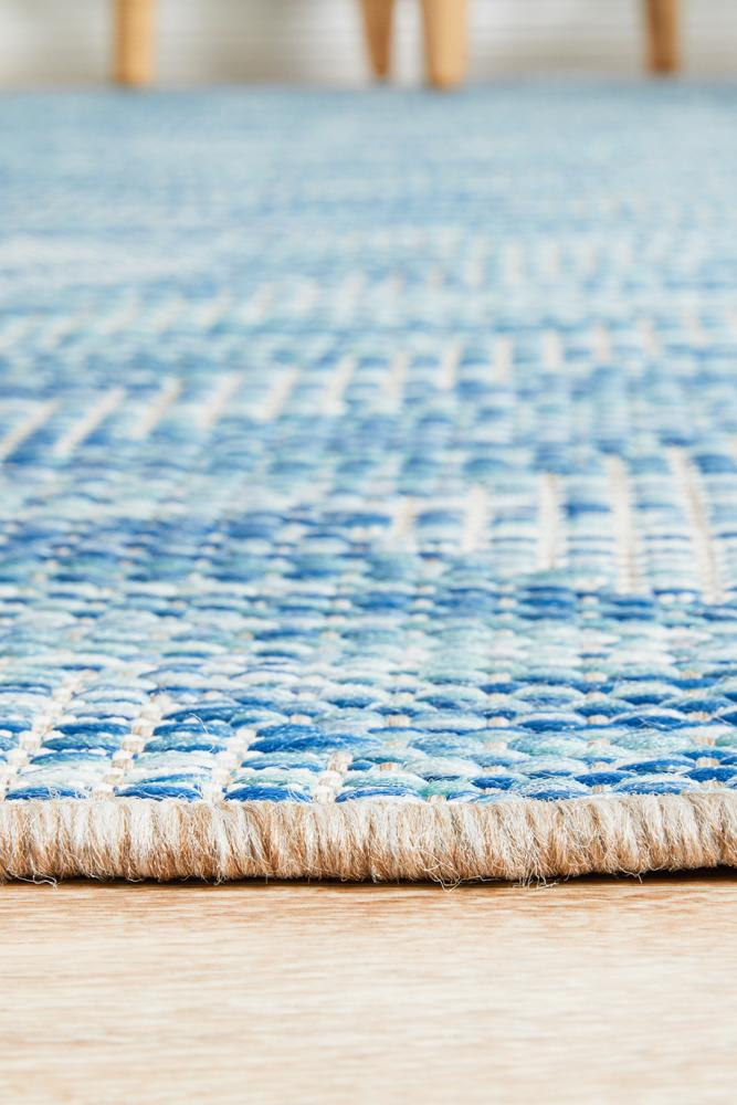 Terrain Outdoor No.4 in Blue (Available in Rug & Runner Rug)