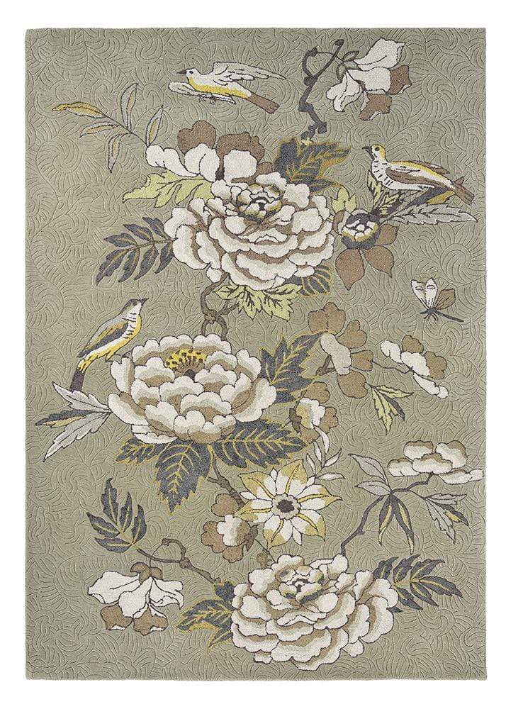 Wedgwood Paeonia Blush in Taupe : 37904