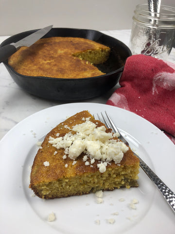 Hatch Green Chile Cornbread