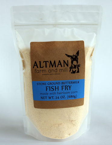 Heirloom Buttermilk Fish Fry -  24oz. Bag