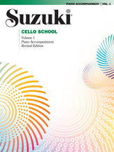 Suzuki Cello- Piano Acc. Vol 1 (Revised) - Music Creators Online