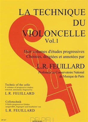 Feuillard Cello Technique Vol. 6