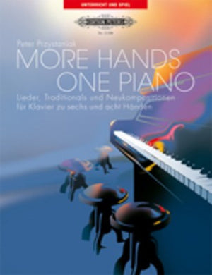 More Hands Book/Cd One Piano 6 Or 8 Hands - Music Creators Online