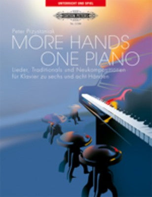More Hands Book/Cd One Piano 6 Or 8 Hands