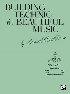 Building Technic With Beautiful Music Bk 2 (Violin) - Music Creators Online